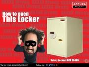 Accura ACR5640N Safety locker (Bio-metric locking system)